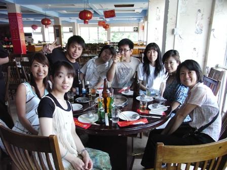 5月中国語全日制コース打ち上げ